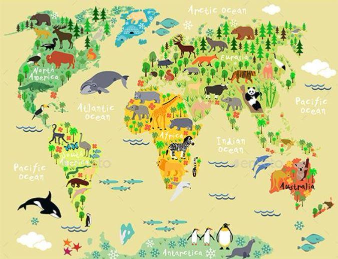 Coneixem els continents!