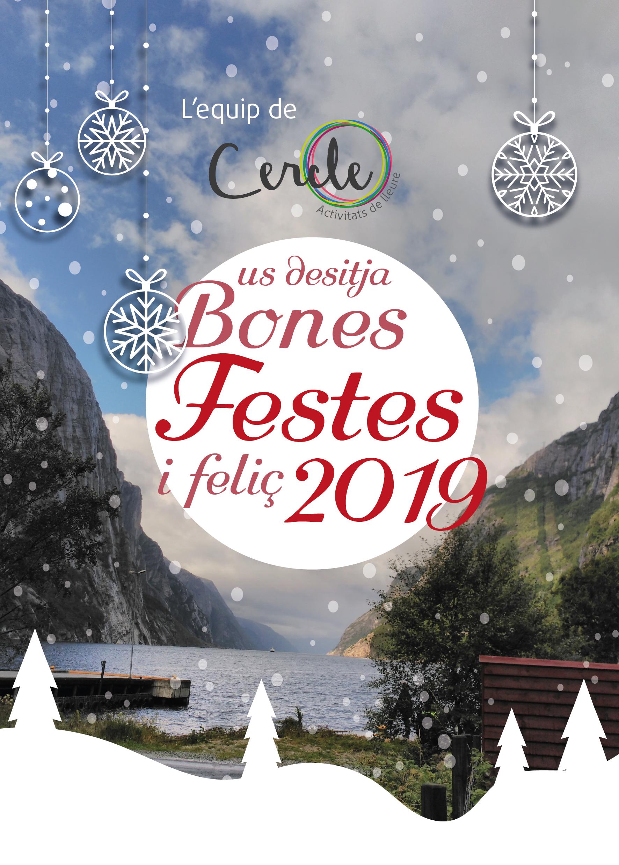 L'equip de Cercle us desitja…Bones Festes!